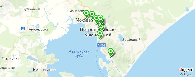 обувные мастерские на карте Петропавловска-Камчатского