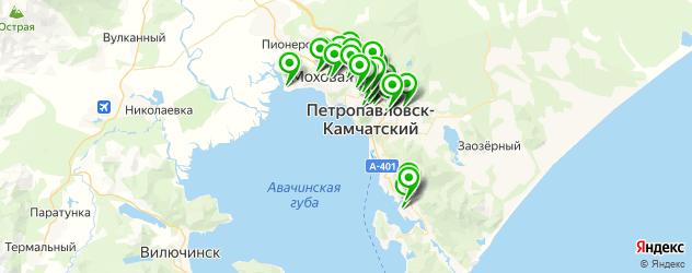 мебельные мастерские на карте Петропавловска-Камчатского