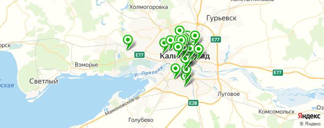 агентства праздников на карте Калининграда