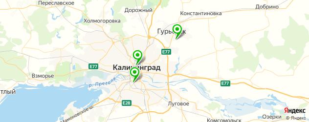 где купить парик на карте Калининграда