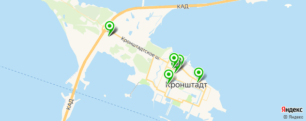 центры косметологии на карте Кронштадта