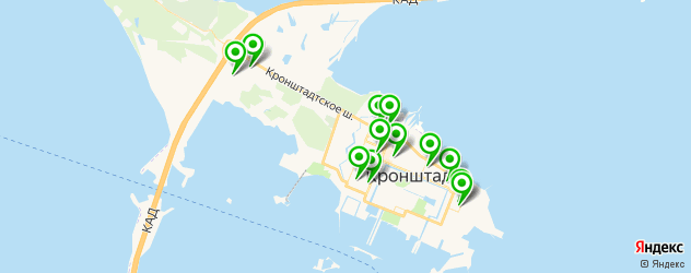 детские сады на карте Кронштадта