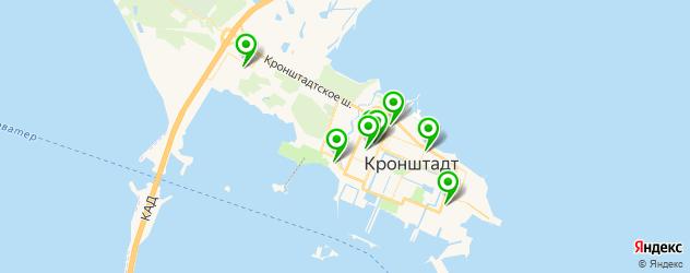 школы на карте Кронштадта
