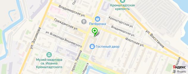 ортопедические магазины на карте Кронштадта
