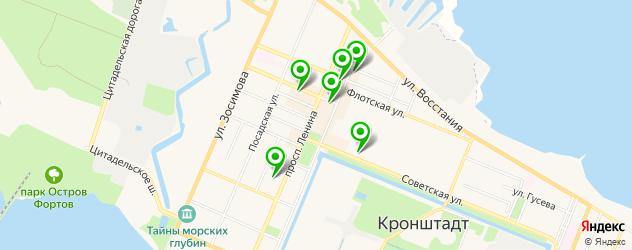 мастерские на карте Кронштадта