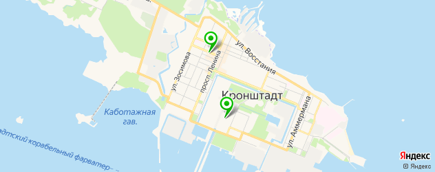 студии автозвука на карте Кронштадта