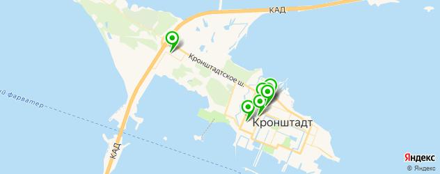 кондитерские на карте Кронштадта