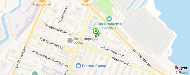 тату салон на карте Кронштадта