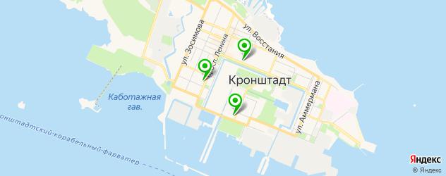 рестораны с живой музыкой на карте Кронштадта