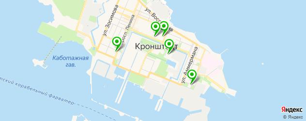 детские клубы на карте Кронштадта