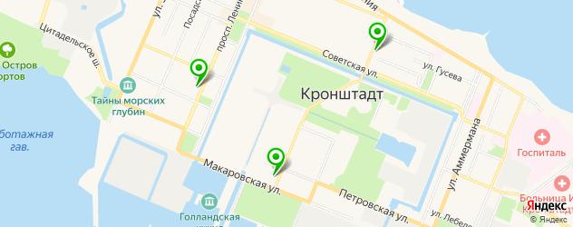 рестораны европейской кухни на карте Кронштадта
