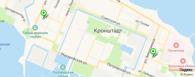 реабилитационные центры на карте Кронштадта
