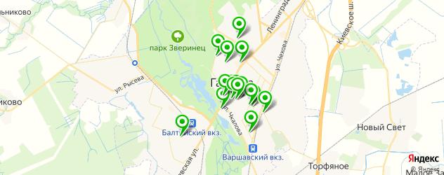 кафе для поминок на карте Гатчины