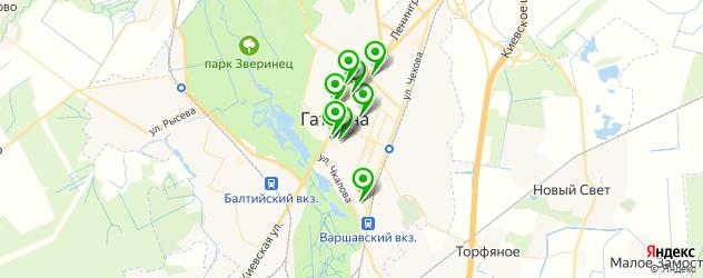 компьютерные помощи на карте Гатчины