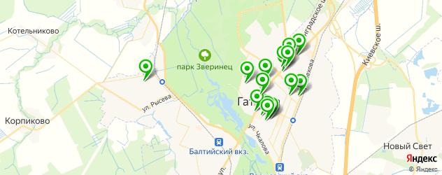 доставка на карте Гатчины