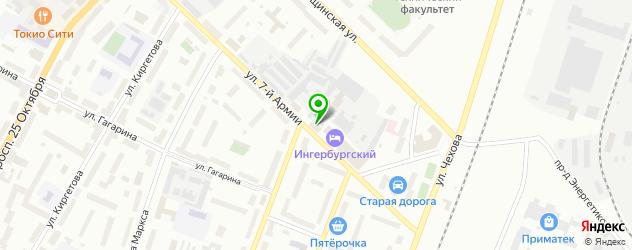 СПА отель на карте Гатчины