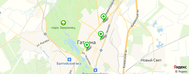 постные меню в ресторанах на карте Гатчины