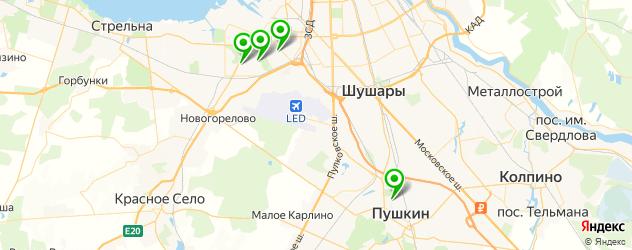 ювелирные мастерские на карте Пушкина