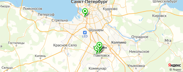 ортопедические магазины на карте Пушкина
