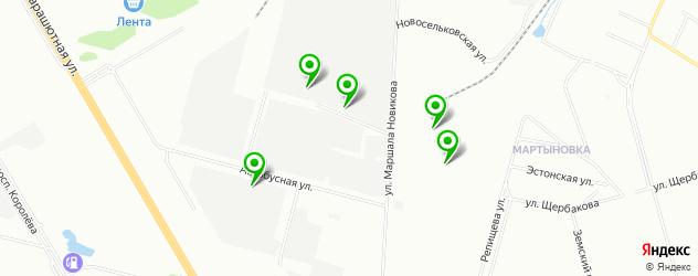 автосервисы на карте Макулатурного проезда
