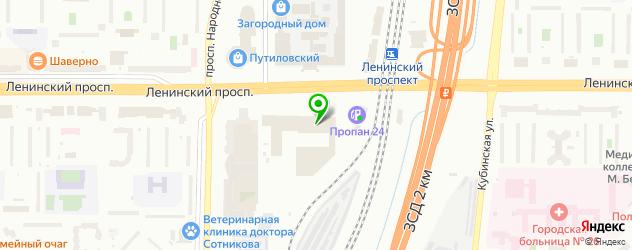экскурсии на карте Пушкина