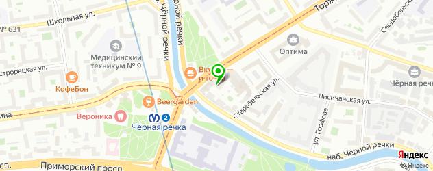 ремонт наушников на карте улицы Савушкиной