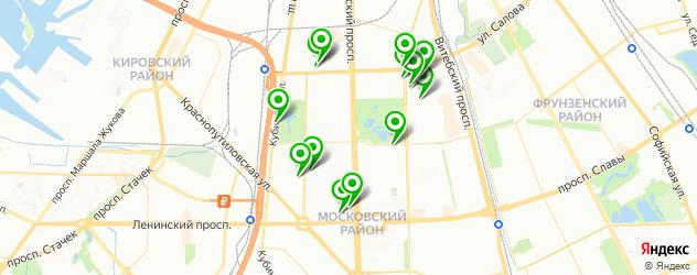 автосервисы на карте метро Парк Победы