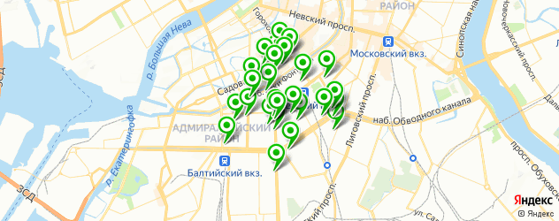 печать визиток на карте метро Технологический институт 1
