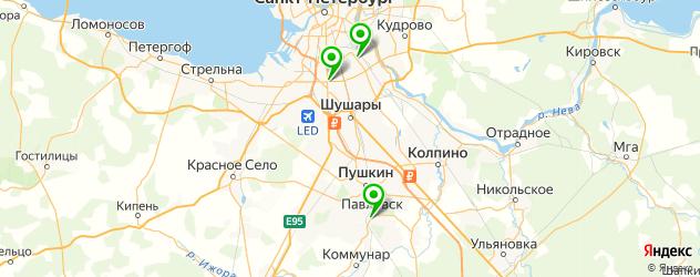кадровые агентства на карте Пушкина
