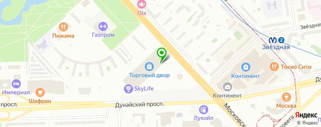 магазины автозвука на карте Пушкина