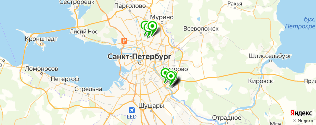 магазины шин и дисков на карте Сосновки