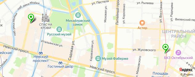 африканская кухня на карте Санкт-Петербурга