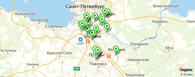 компьютерные помощи на карте Колпино