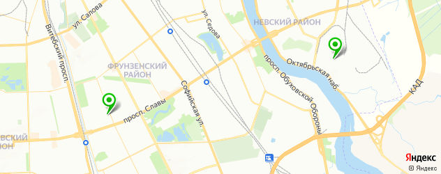 академии на карте Пушкина