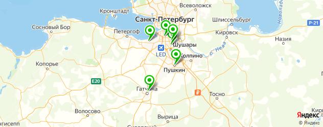 антикафе на карте Пушкина