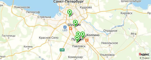 фотостудии на карте Пушкина