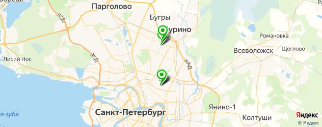 массаж для беременных на карте Калининского района