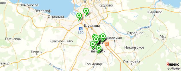 где купить парфюмерию на карте Пушкина