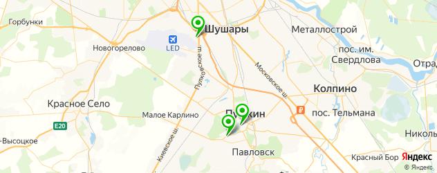 квесты на карте Пушкина