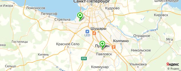 тату салон на карте Пушкина