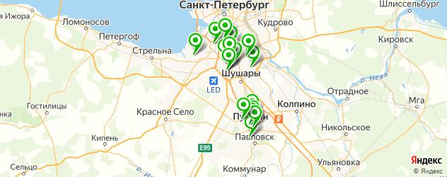 центры эстетической медицины на карте Пушкина