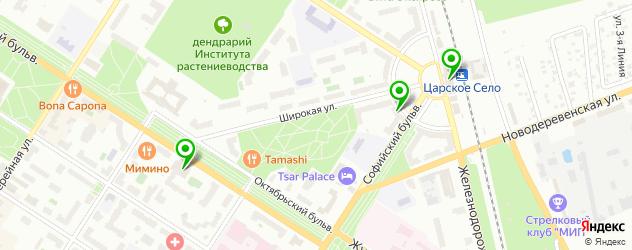 ломбарды на карте Пушкина