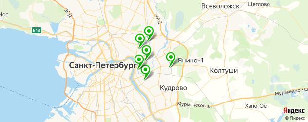 охраняемая стоянка на карте Красногвардейского района