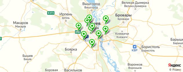 автоуслуги на карте Київ