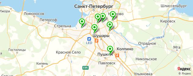 автосалоны на карте Пушкина