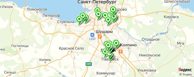 аптеки на карте Пушкина