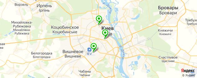 дилеры спецтехники на карте Київ
