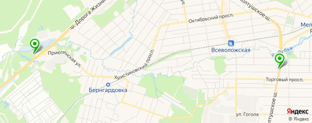 музеи на карте Всеволожска