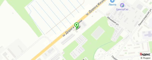 автосалоны на карте Всеволожска