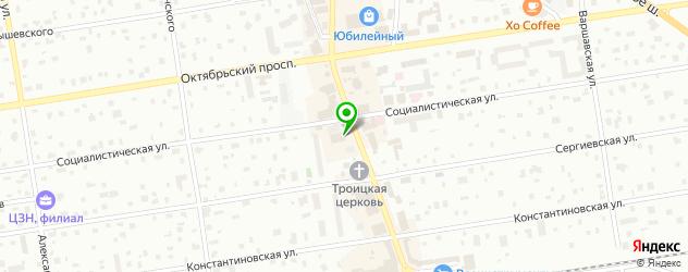 боди-арты салон на карте Всеволожска